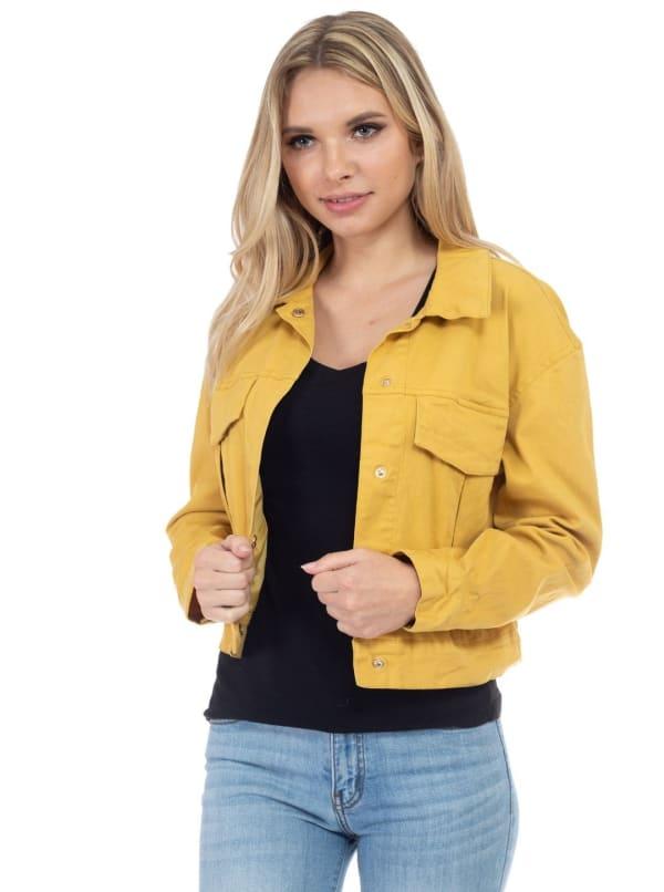 26 International Crop Cotton Jacket