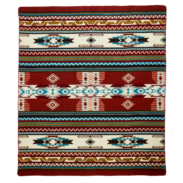 Ultra Soft Southwestern Arrow Handmade Woven Blanket