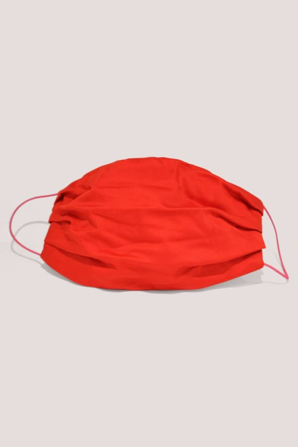 Red Double Layer Face Mask