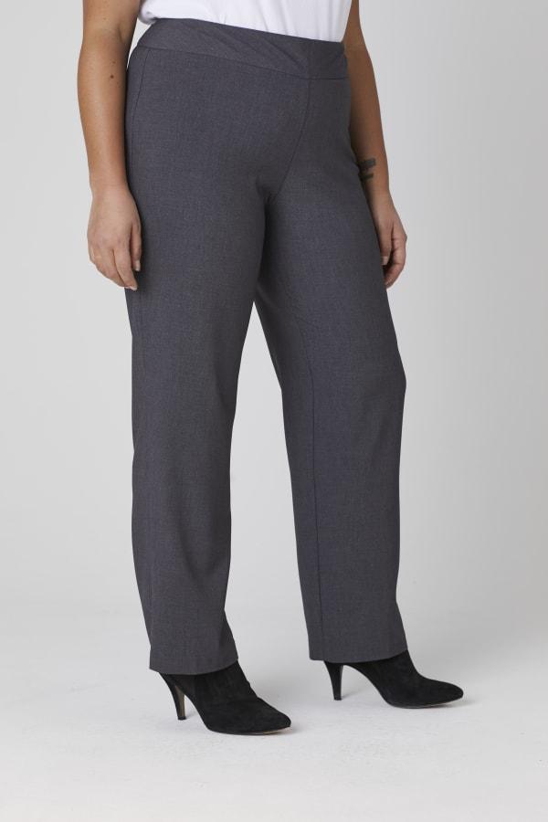 Roz & Ali Secret Agent Tummy Control Pants - Tall Length - Plus