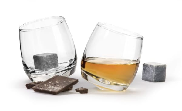Clear Rocking T/Drink Stone 2 Pack Gift Set