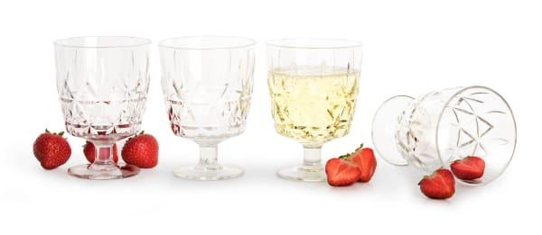 Picnic Wine Glass - Pack of 4