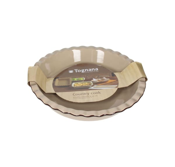 """Country Cook 10"""" Round Baking Dish"""