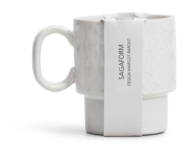 Coffee & More White Mug