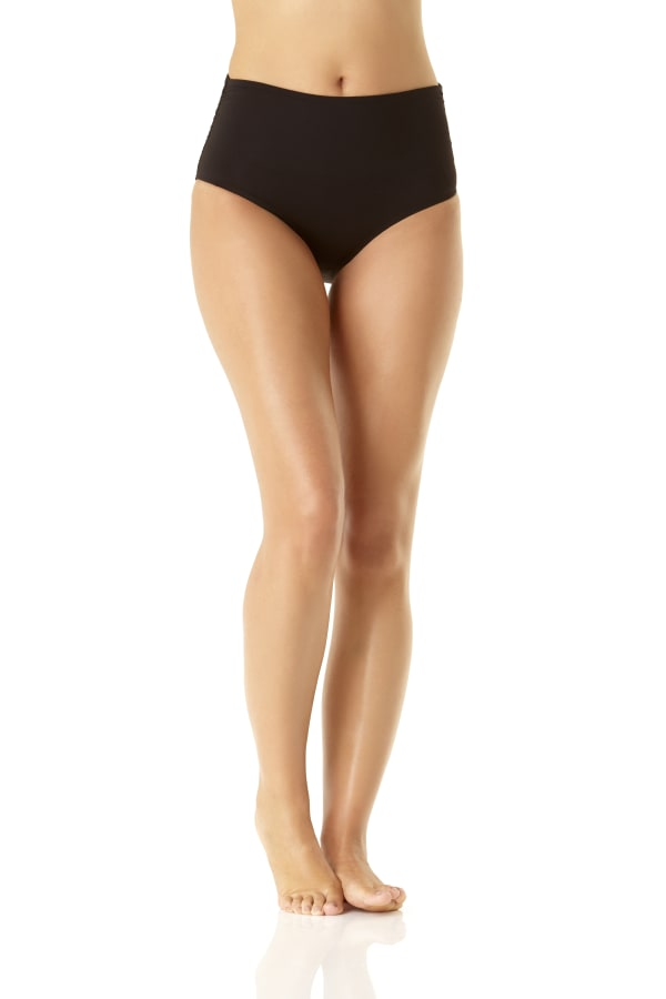 Anne Cole Convertible Shirred Bottom