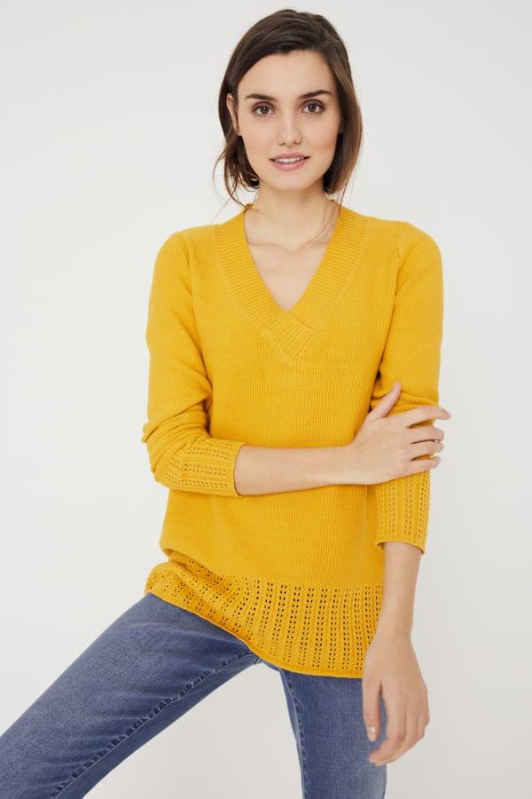 Westport V-Neck Sweater Tunic