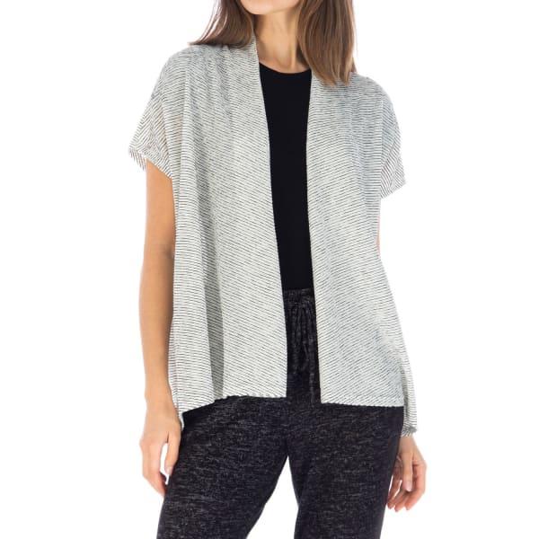 Textured Stripe Light Weight Cardigan