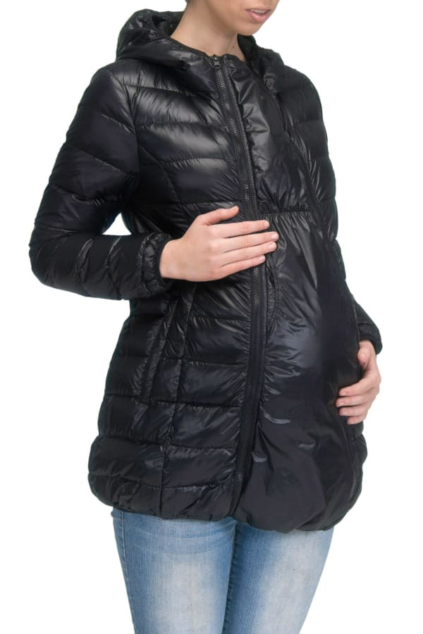 Modern Eternity Ashley Maternity 3 in 1 Removable Sleeves Jacket