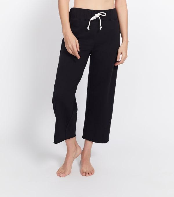 Wide Leg Crop Fit Pant