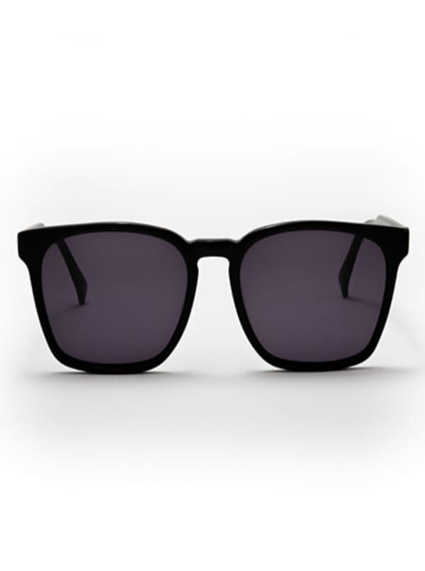 Banks Sunglasses - Black / Dark Grey - Front