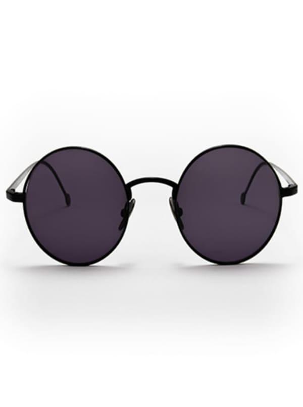 Jamie Sunglasses - Black / Dark Grey - Front