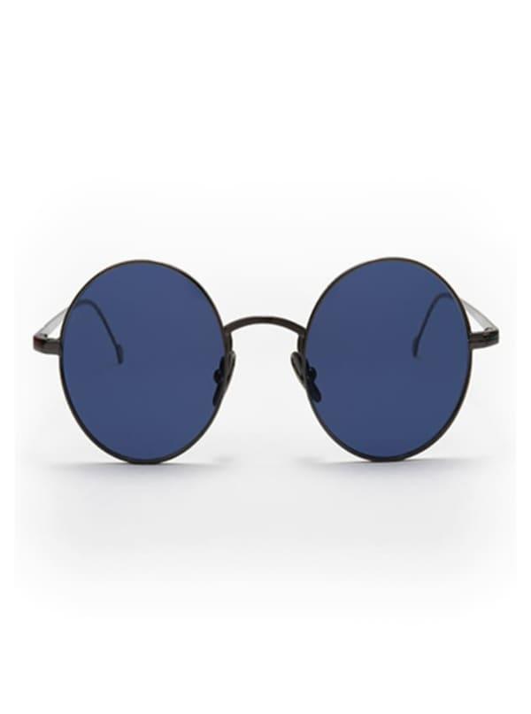 Jamie Sunglasses - Gunmetal / Blue - Front