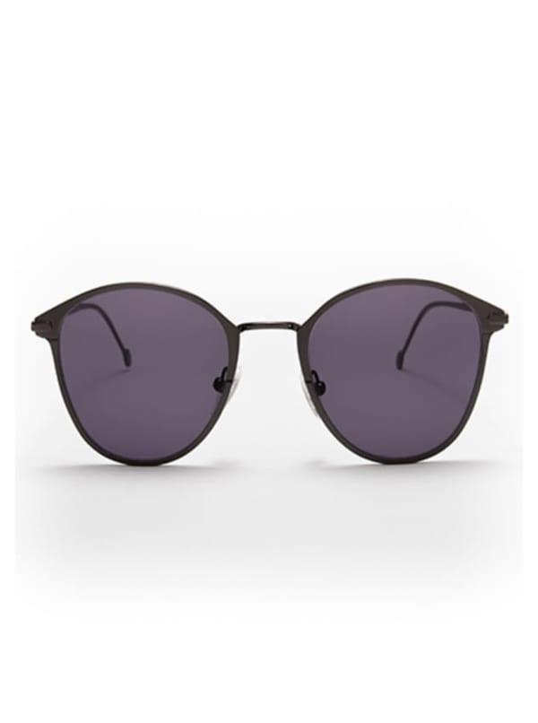 Ned Sunglasses - Gunmetal / Grey - Front