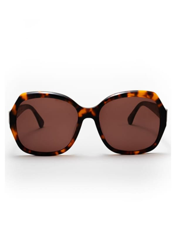 Pascha Sunglasses - Brown Tortoise / Brown - Front