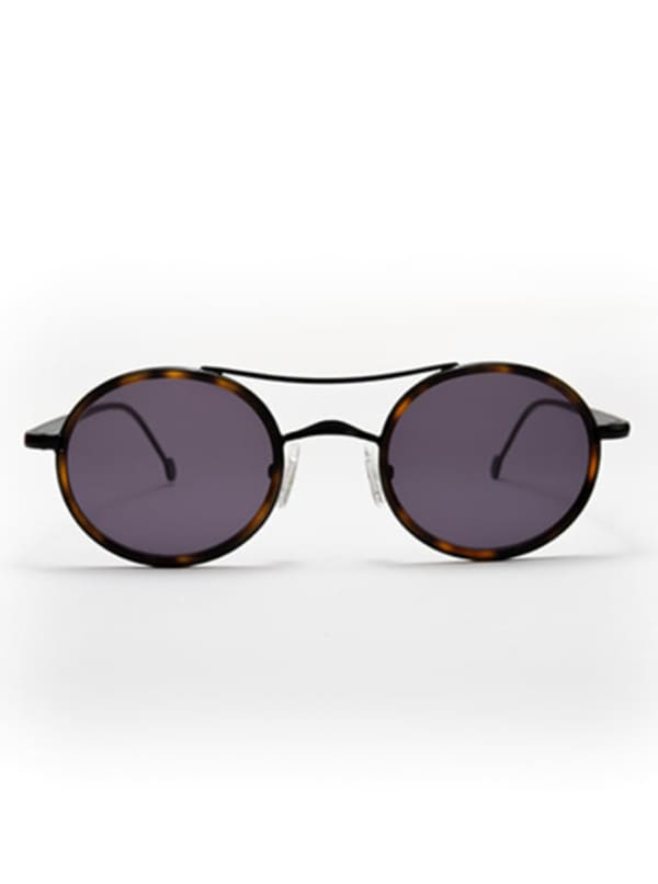 Mason Sunglasses - Brown Tortoise / Black / Grey - Front