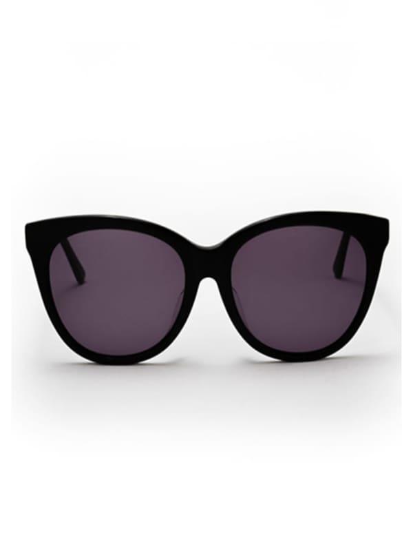 Joella Sunglasses - Black / Dark Grey - Front