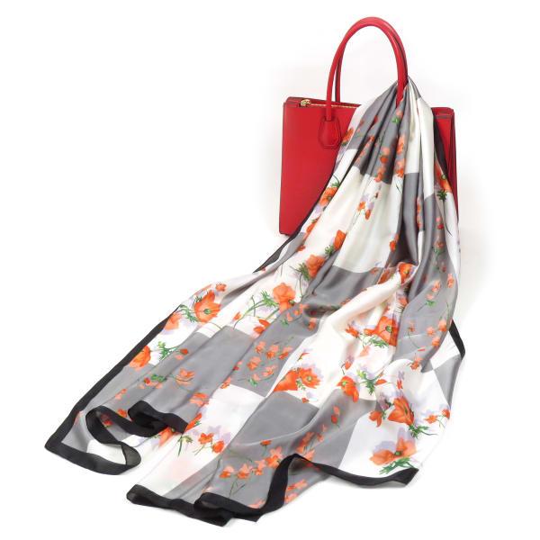 Soft Pashmina Silk Floral Scarf