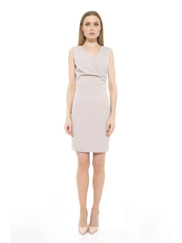 Kylie Mini Dress - Black - Front