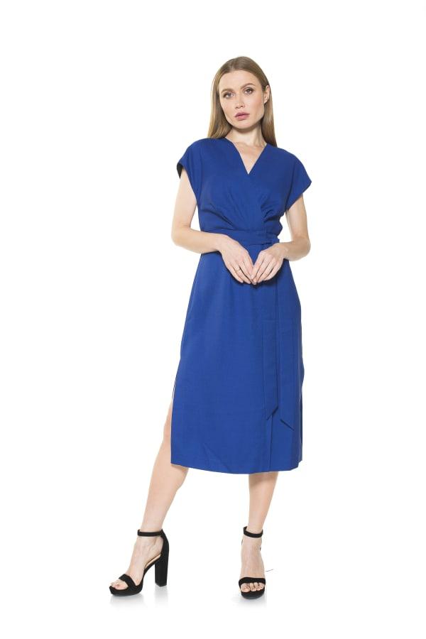 Iris Wrap Dress