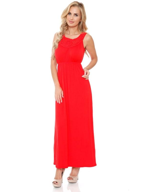Katherine' Maxi Sleeveless Dress