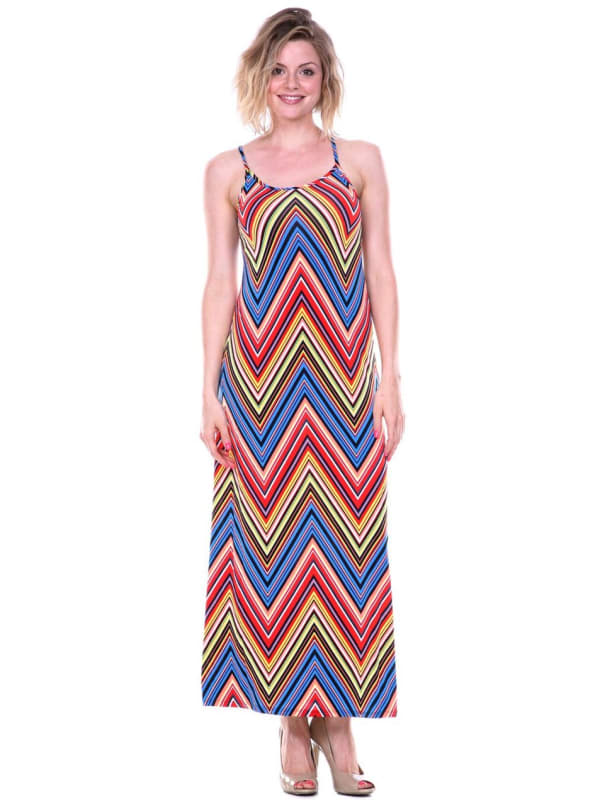 Adalina Sleeveless Maxi Dress