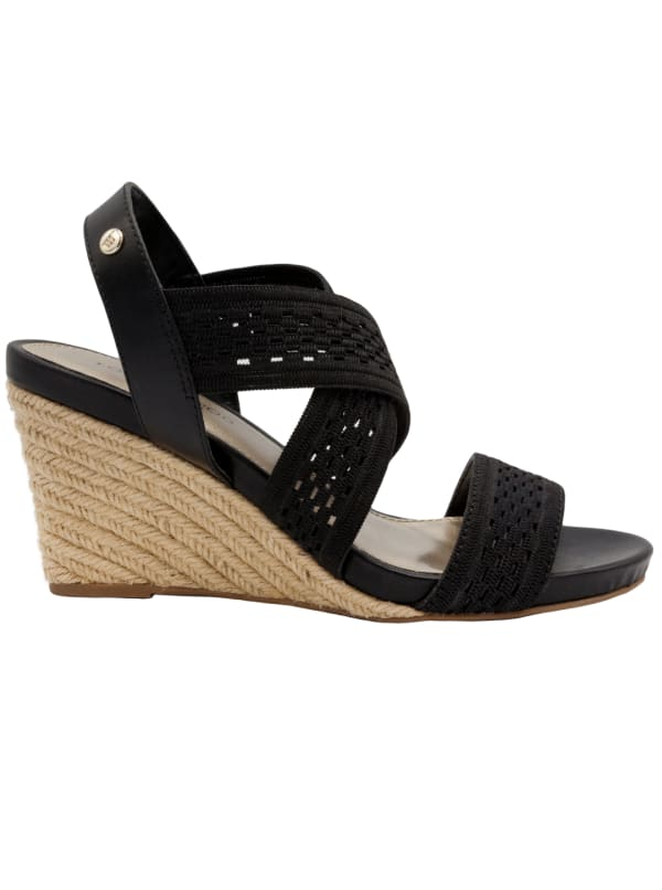 Pickwick Stretch Wedge Sandal
