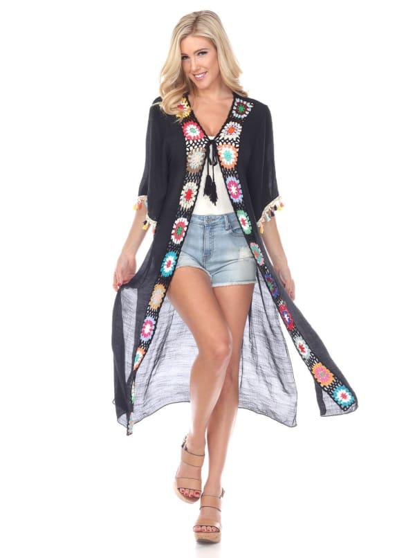 Crochet Kimono Cover-Up