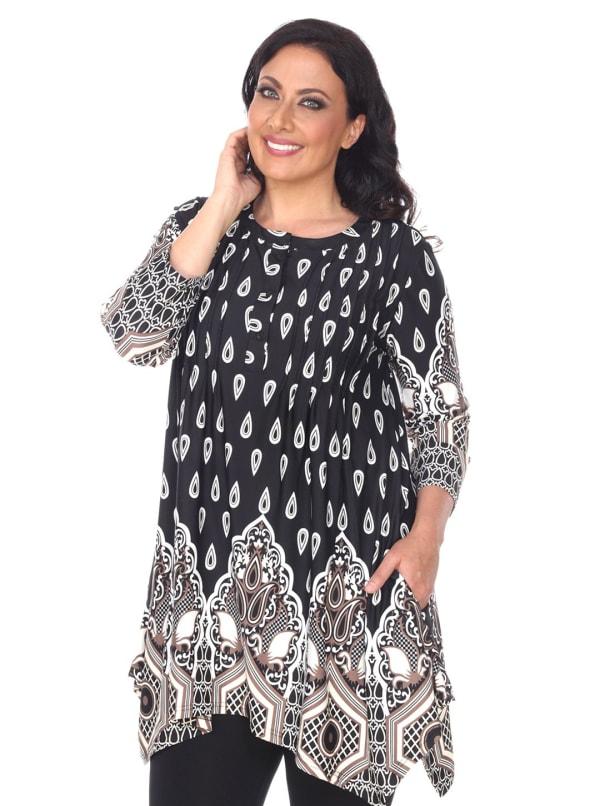 Plus Size Kairi Tunic/Top