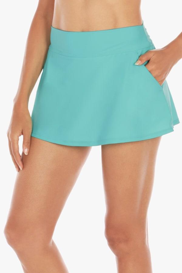 Caribbean Joe Caribbean Solid Skirt