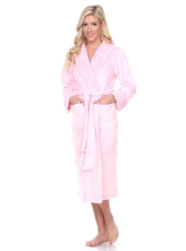 Long Sleeve Super Soft Lounge Robe