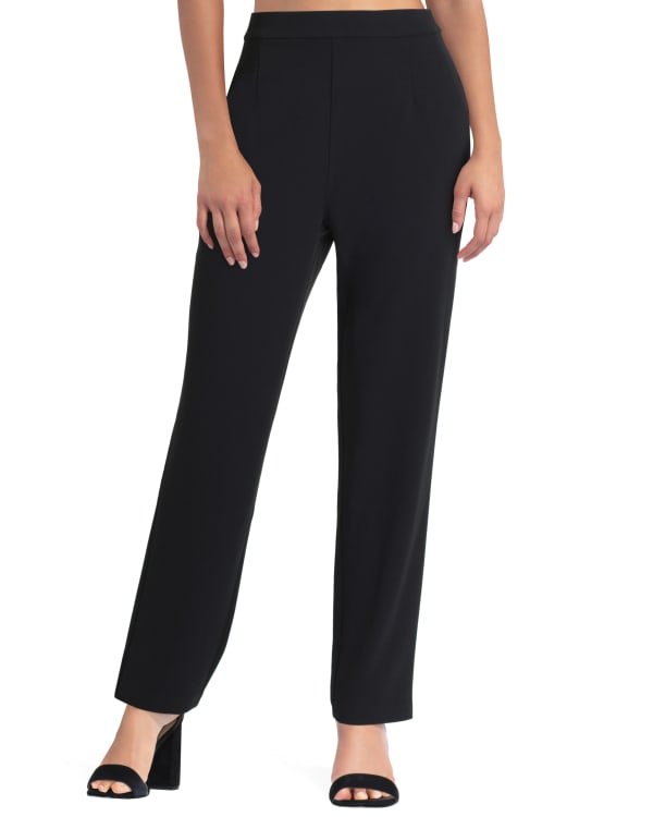 Ankle Length Pull-On Pant H Halston