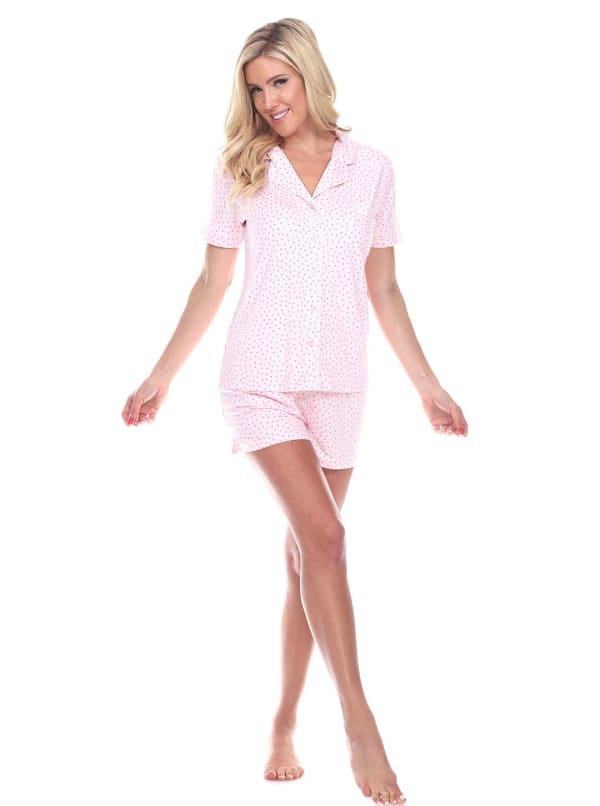 Short Sleeve Comfortable Pajama Set