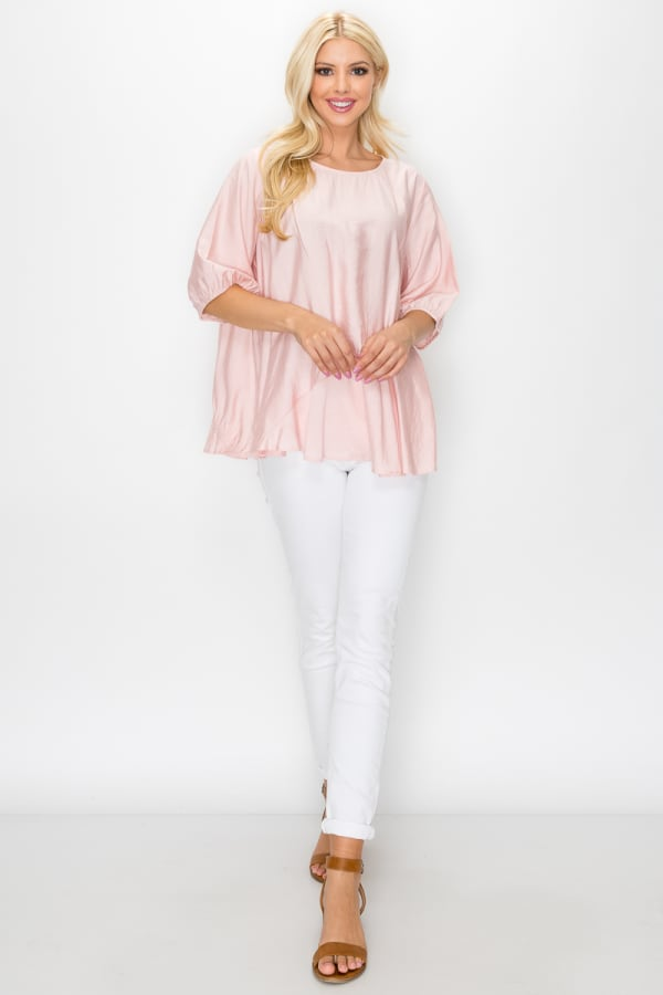 Willa Top - Pink - Front