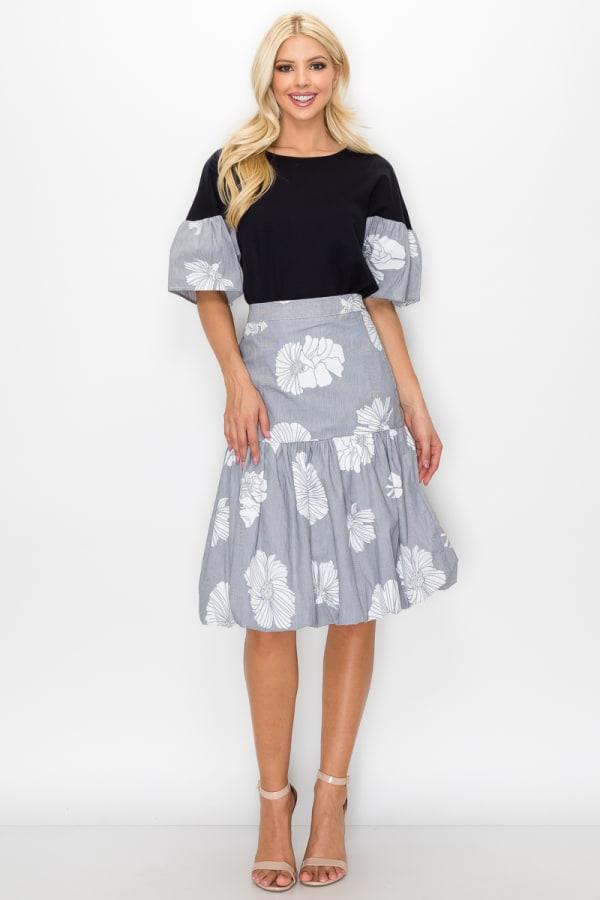 Wynne Bubble Skirt - As Is - Front
