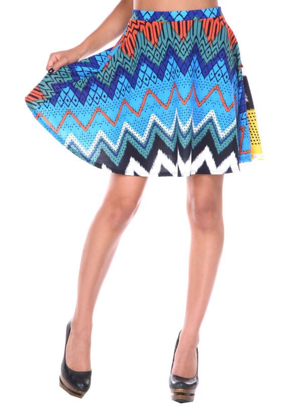 Heidi Flared Mini Skirt