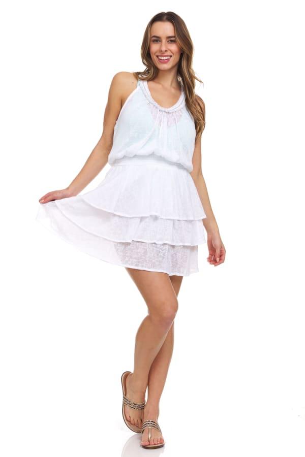 Ruffle Tiered Short Dress