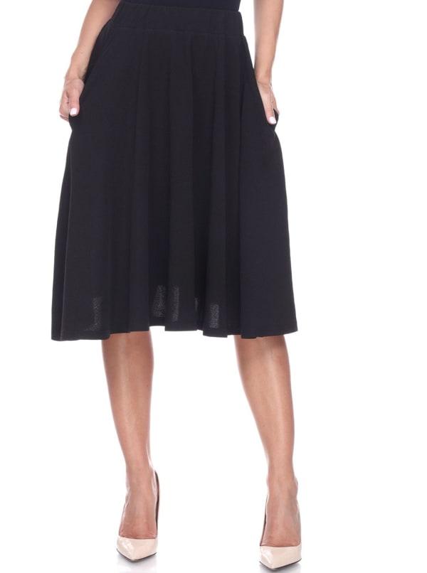Saya Lightweight Flared Skirt