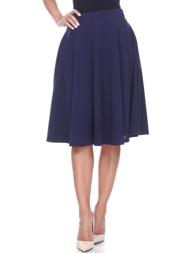 Saya Lightweight Flared Skirt