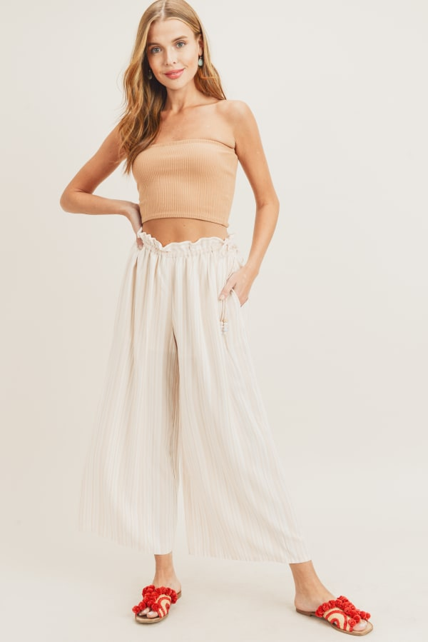 Yazmin Pants - Taupe - Front