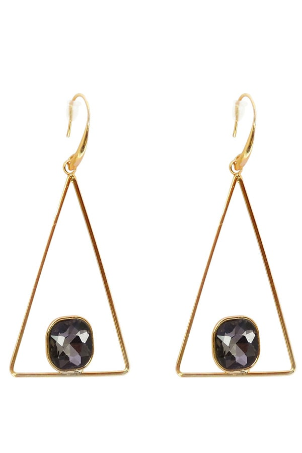 Cubic Zirconia Dangle Drop Earring