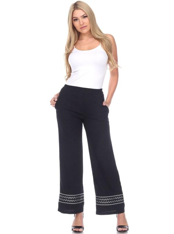 Wide Leg Breezy Pants
