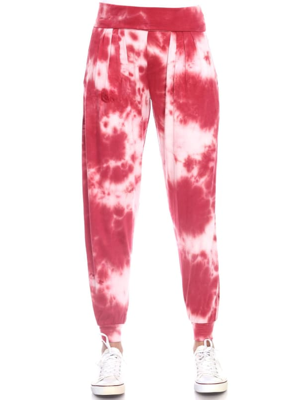 Tie Dye Relaxed Fit Harem Pants
