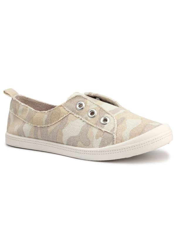 Gemstone Slip On Canvas Sneaker