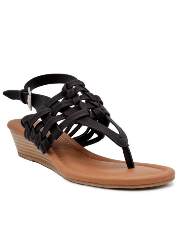 Simone Demi-Wedge Sandal