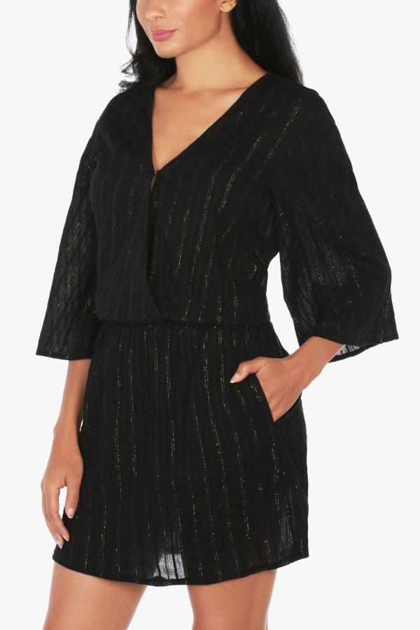 Tahari Gold Coast Wrap Dress
