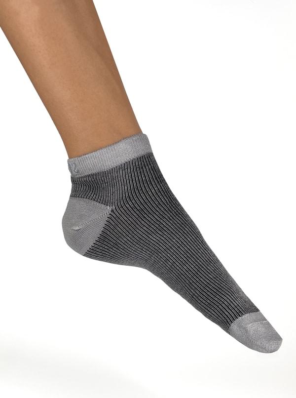 Italian Micro Rib Ankle Socks