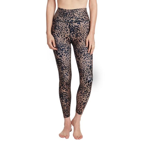 Sage Everyday Printed Suede Spotted Cheetah Legging
