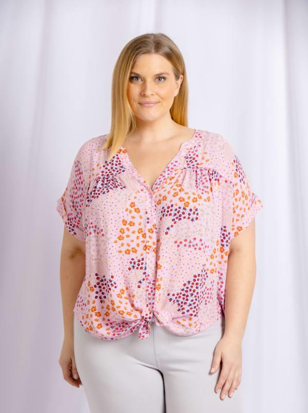 Cooper & Ella - Riley Short Sleeve Shirt - Plus