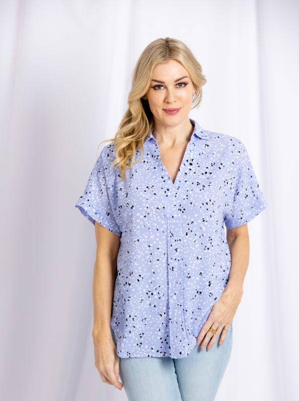 Cooper & Ella Short Sleeve Darby Shirt