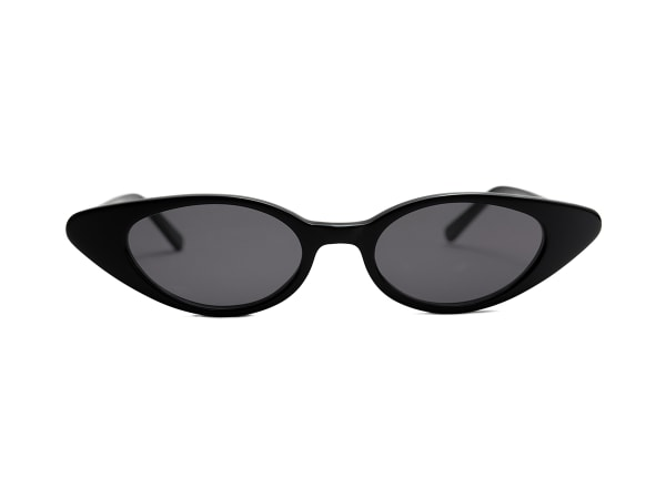 Tapered Temples Athena Oval Sunglasses